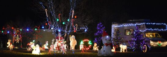 Love Christmas Lights? Weu0027re Barry And Judy Olson And We Welcome You To  Come On By Our House At 1500 52nd Ave SW, Minot ND, And Get In The Holiday  Spirit ...
